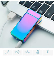 Rechargeable Windproof Flameless USB Lighter