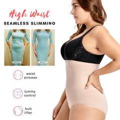 SlimCurves™ High Waist Tummy Control Panty Shaper