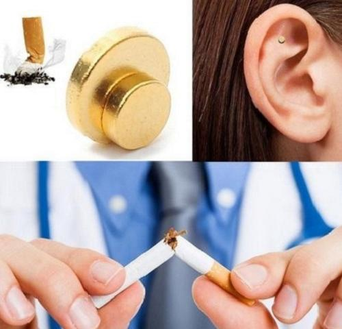 Magnetic Anti-Smoking Patch