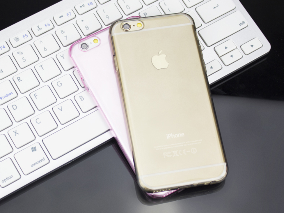Ultra Thin Soft Gel Transparent Case For iPhone