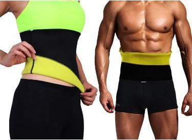 17aca20488c2e Thermo Waist Shaper Training Belt For Men   Women - Slim Abs Workout  Enhancer!