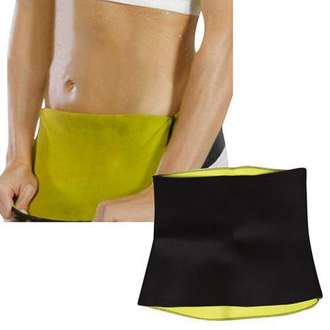 Thermo Waist Shaper Training Belt For Men & Women - Slim Abs Workout Enhancer!