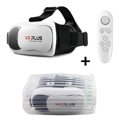 VR Plus Virtual Reality for 4-6.0' Smartphone + Bluetooth Remote