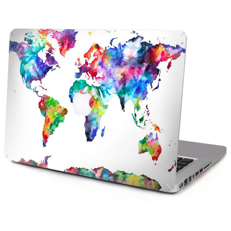 "Lovely World Map Decal For Macbook Air / Retina / Pro 11"" 12"" 13"" 15"""