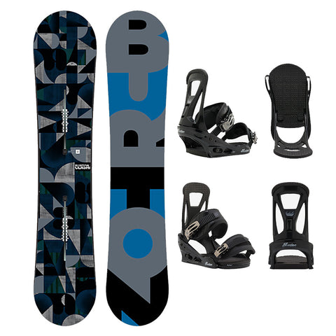 BURTON CLASH WIDE SNOWBOARD PACKAGE - 2017