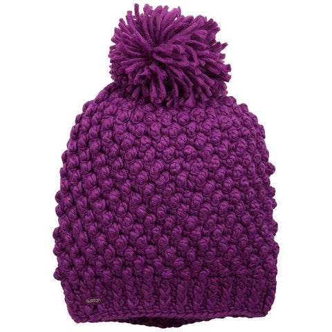 BURTON WOMENS PERFECT 10  BEANIE - GRAPESEED
