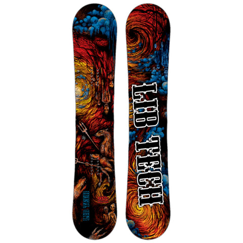 LIB TECH KRAFTSMEN FROM HELL SKATE BANANA SNOWBOARD - 2017 - Boardwise