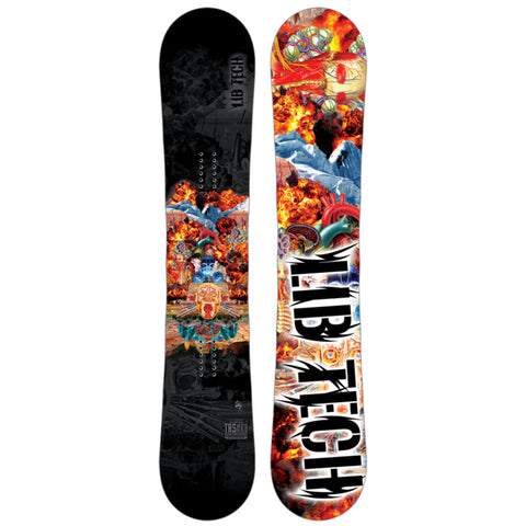 LIB TECH TRS HORSEPOWER MEDIUM WIDE SNOWBOARD - 2017 - Boardwise