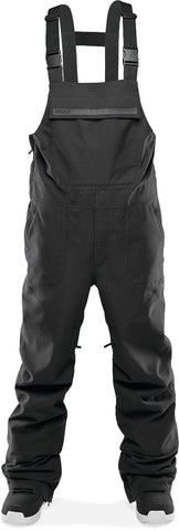 THIRTY-TWO BASEMENT BIB SNOWBOARD PANT - BLACK  - 2021