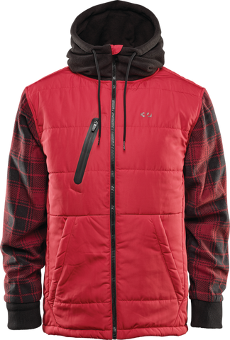 THIRTY-TWO ARROWHEAD SNOWBOARD JACKET - RED - 2020 - Boardwise