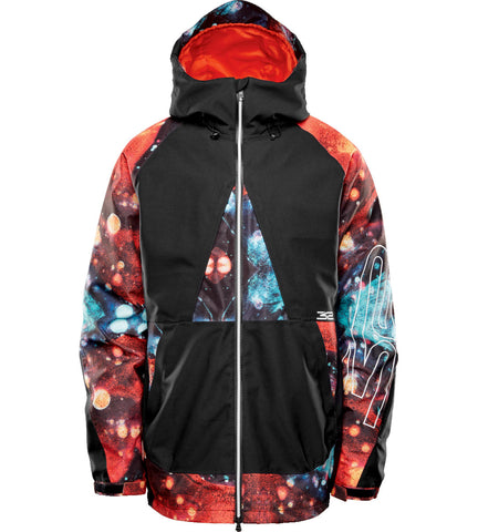 THIRTY-TWO TM-3 SNOWBOARD JACKET - BLACK PRINT   - 2021