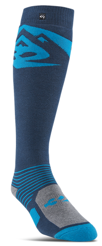 THIRTY-TWO CORP GRAPHIC SNOWBOARD SOCKS - BLUE - 2019 - Boardwise