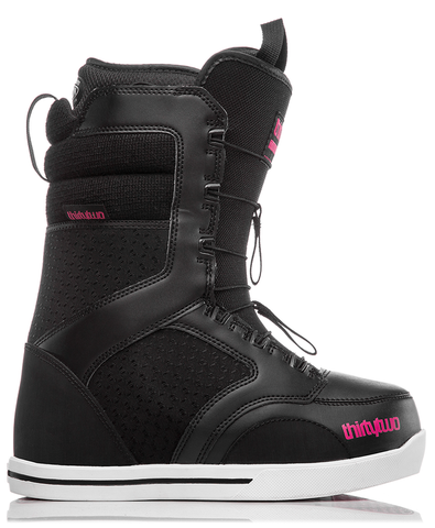 THIRTY TWO WOMENS 86 FT SNOWBOARD BOOTS - BLACK - 2019