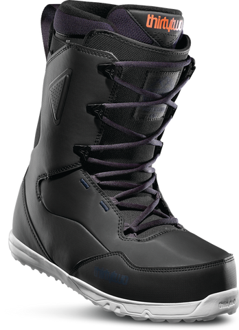 THIRTY TWO ZEPHYR SNOWBOARD BOOTS - BLACK  NAVY - 2020 - Boardwise