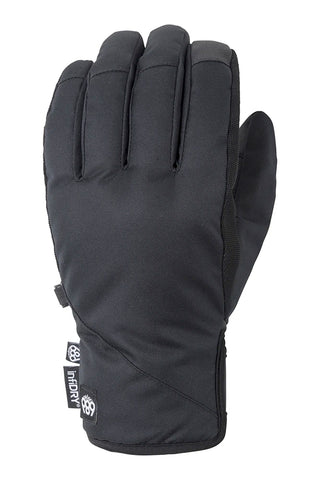 686 RUCKUS PIPE SNOWBOARD GLOVE - BLACK - 2021