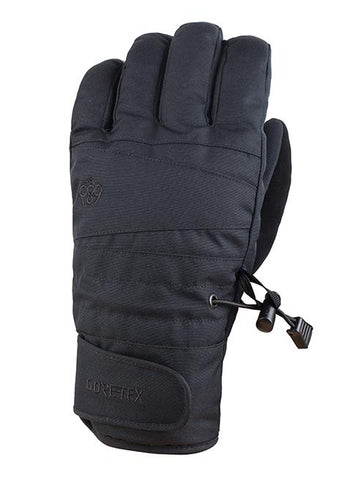 686 GORE-TEX GHOST SNOWBOARD GLOVE - BLACK - 2018 - Boardwise