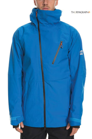 686 GLCR HYDRA THERMAGRAPH SNOWBOARD JACKET - STRATA BLUE - 2020 - Boardwise