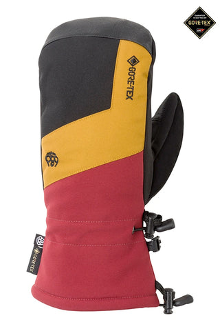 686 LINEAR GORE TEX SNOWBOARD MITT - OXBLOOD COLORBLOCK - 2021
