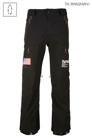 686 NASA EXPLORATION SNOWBOARD PANT - BLACK - 2021
