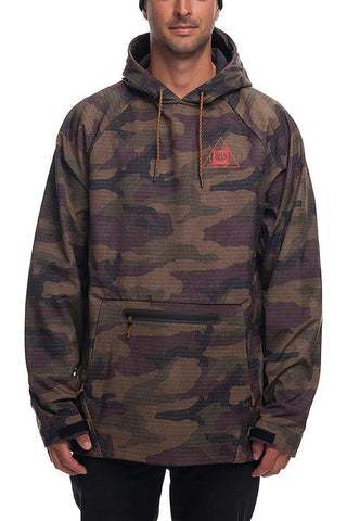 686 WATERPROOF HOODY - DARK CAMO - 2019 - Boardwise