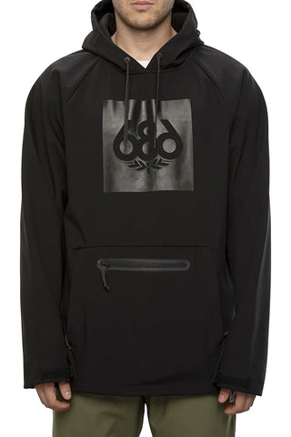 686 WATERPROOF HOODY - BLACK - 2021
