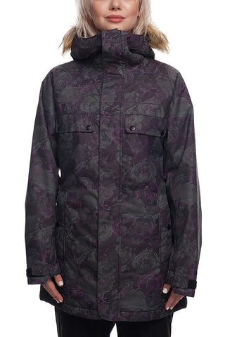 686 WOMENS DREAM INSULATED SNOWBOARD JACKET - GHOST - 2019 - Boardwise