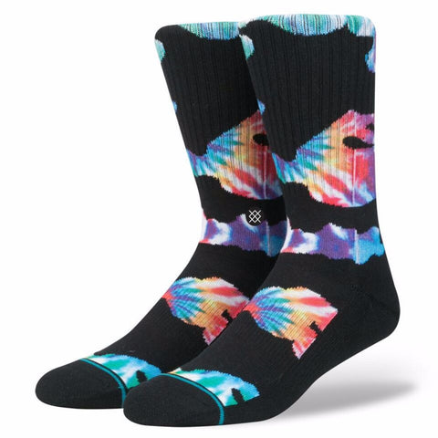 STANCE ALPHAS MULTI BLACK SOCKS - Boardwise