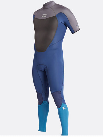 2017 Billabong Absolute Comp BZ 2MM Wetsuit Petrol Blue