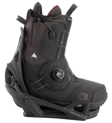 BURTON ION STEP ON SNOWBOARD BOOTS PACKAGE - BLACK - 2020 - Boardwise