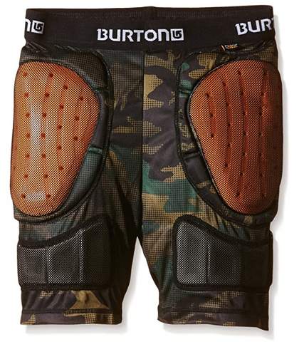 BURTON YOUTH TOTAL IMPACT SHORTS - HICKORY POP CAMO - Boardwise