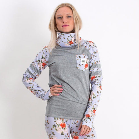 EIVY ICECOLD RAGLAN THERMAL TOP ROSE