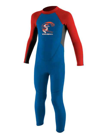 2019 O'Neill Reactor Toddler Full Wetsuit Ocean Red