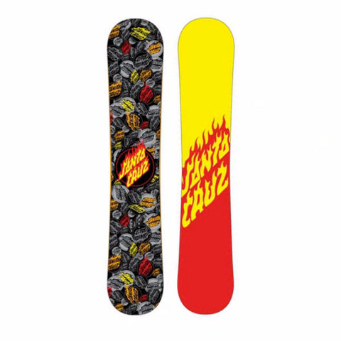 SANTA CRUZ FLAMING DOT SNOWBOARD - 2012 - Boardwise