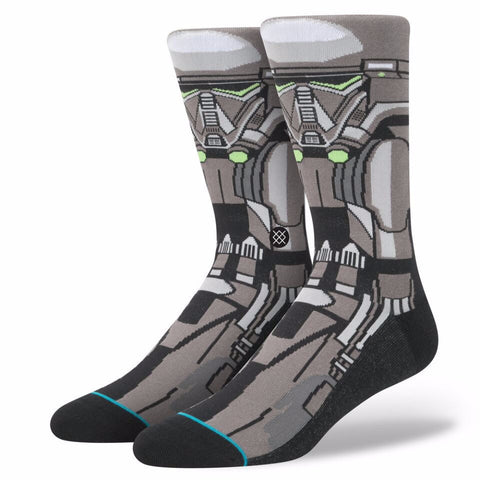 STANCE STAR WARS DEATH TROOPER BLACK SOCKS - Boardwise