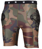 BURTON YOUTH TOTAL IMPACT SHORTS - HIGHLAND CAMO - Boardwise