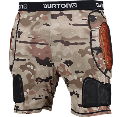 BURTON TOTAL IMPACT SHORTS - BIRCH CAMO - Boardwise
