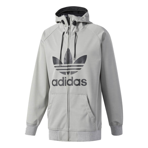 ADIDAS GREELEY SOFT SHELL SNOWBOARD JACKET - CORE HEATHER - 2018