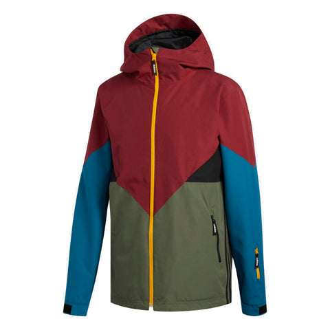 ADIDAS PREMIERE SNOWBOARD JACKET - BASE GREEN NOBLE MAROON - 2019 - Boardwise