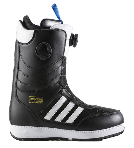 ADIDAS RESPONSE ADV SNOWBOARD BOOTS - BLACK WHITE - 2018 - Boardwise