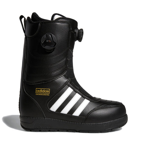 ADIDAS RESPONSE ADV SNOWBOARD BOOTS - BLACK WHITE - 2019 - Boardwise