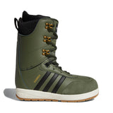 ADIDAS SAMBA ADV SNOWBOARD BOOTS - BASE GREEN CORE BLACK - 2019 - Boardwise