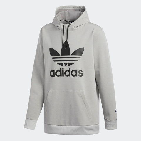 ADIDAS TEAM TECH HOODIE - HEATHER GREY - 2019 - Boardwise