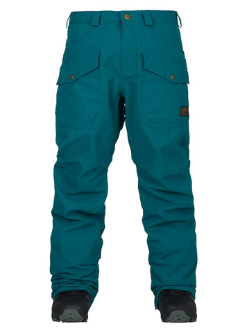 ANALOG CONTRACT SNOWBOARD PANT - BLUE 107 - 2018 - Boardwise