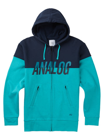 ANALOG KINCAID BONDED FLEECE - ECLIPSE - 2018 - Boardwise