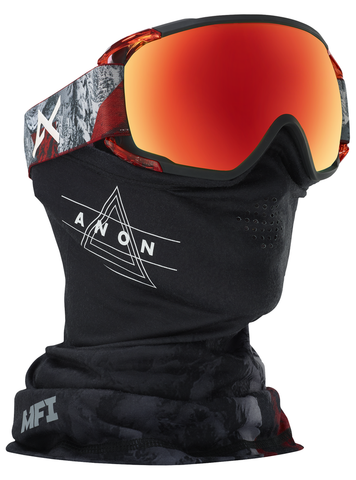 ANON CIRCUIT MFI SNOWBOARD GOGGLE - RED PLANET - 2018