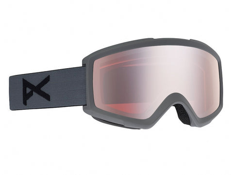 ANON HELIX 2.0 SNOWBOARD GOGGLE - STEALTH SILVER AMBER - 2021