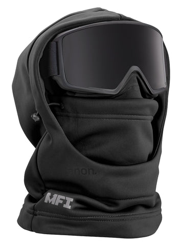 ANON MFI HOODED BALACLAVA - BLACK - 2019 - Boardwise