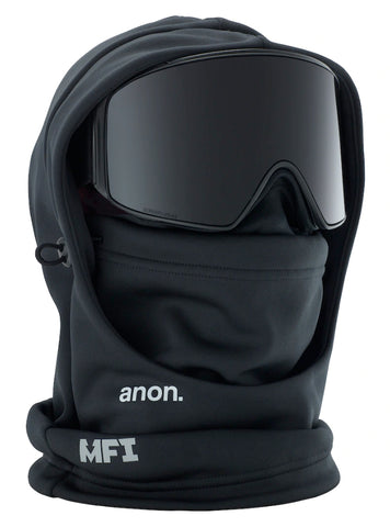 ANON MFI HOODED BALACLAVA - BLACK - 2020 - Boardwise