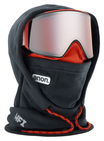 ANON MFI XL HOODED BALACLAVA - BLACK POP - 2020 - Boardwise