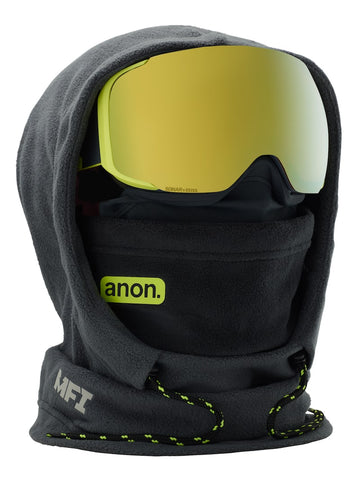 ANON MFI XL HOODED BALACLAVA - GRAY - 2019 - Boardwise